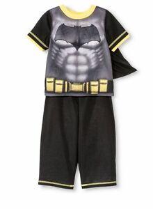 74723f803f Batman 3pc. Pajama Set With Cape - Size  5 A-4