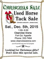 Christmas Sale - Used Horse Tack