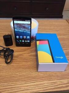 Nexus 5 Déverouillé pour tous les réseaux
