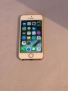 Apple - iPhone 5s - Blanc et Or- 16GB - Bell Virgin -