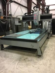"Haas GR712 CNC Router Machine with 24"" Z travel"