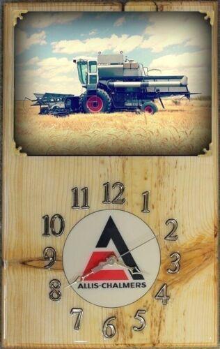 Gleaner L2 Wood Clock