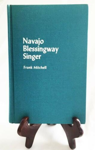 Autobiography of Navajo Blessingway Singer Frank Michell (1881-1967)—Nice HB-DJ