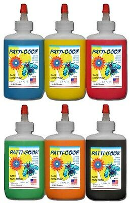 PATTI-GOOP 6-PACK THINGMAKER CREEPY PLASTIGOOP CRAWLERS  BUGMAKER MATTEL