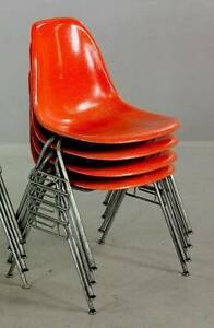 Eames Herman Miller stacking chairs