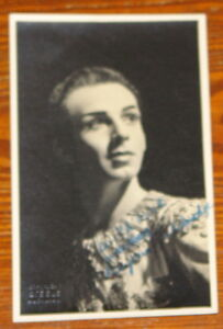 BRYAN-ASHBRIDGE-RARE-HAND-SIGNED-AUTOGRAPHED-POSTCARD-PHOTO-BALLET-OPERA
