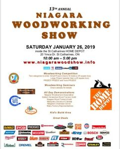 13th annual Niagara Woodworking Show