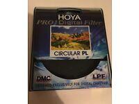 Hoya 77mm polarising filter
