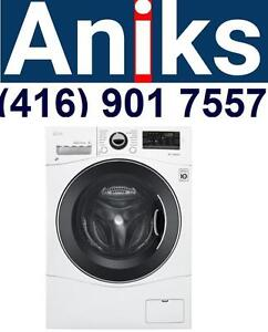 LG WM3488HW 24in Apartment Washer Dryer Combo 120v washer dryer combo on sale at aniks appliances