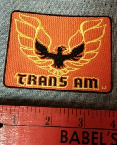 Trans Am iron-on patch