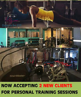 Personal Training- Accepting 2 New Clients