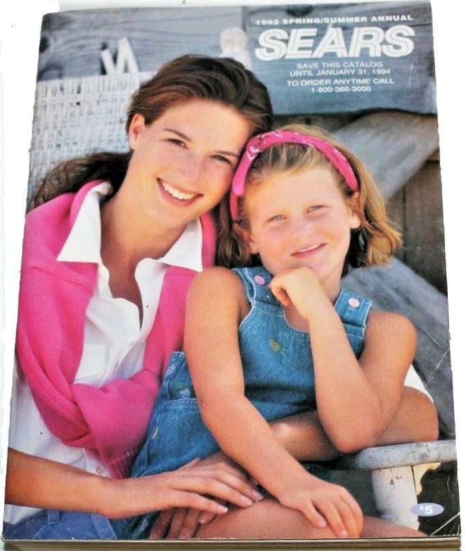 Vintage 1993 Sears Catalog Spring Summer - Still Wrapped &  Sealed