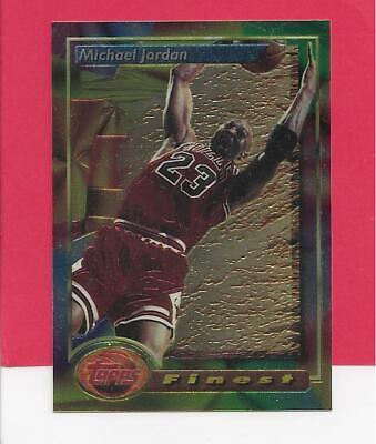 1993-94 Topps Finest Michael Jordan #1, Chicago Bulls