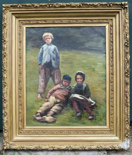18th And 19th Original European Oil Paintings