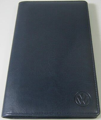 VW NAVY 96 BUSINESS CARD STORAGE WALLET - GENUINE VW MERCHANDISE