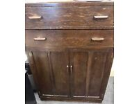 Large drawers and cupboard