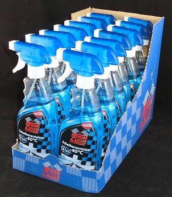 3,28€/L 14 x 500 ml Scheiben Enteiser Spray Nano Enteiserspray Sprühflasche 7,0l