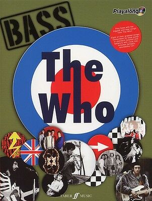 The Who Authentic Bass Playalong (Bass Guitar Songbook & CD)