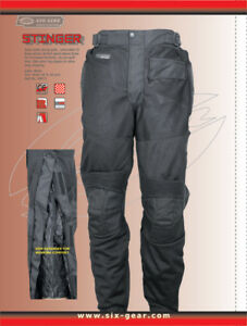 Mesh motorcycle pants