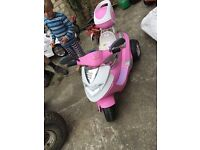 6volt kids moped with charger