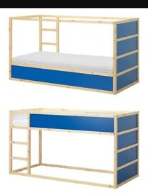High/low sleeper single bed