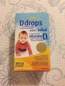 D drops for infants Kingston Kingston Area image 1