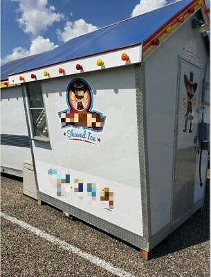 2010 - 10 X 12 Sno Shack Shaved Ice Concession Trailer For Sale In Texas