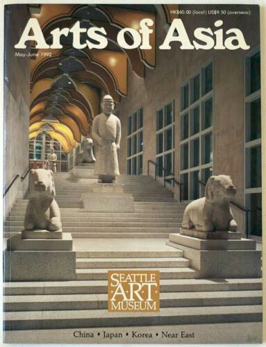 Arts of Asia magazine, May-June 1992, Chinese, Japanese, Korean, Near East Art