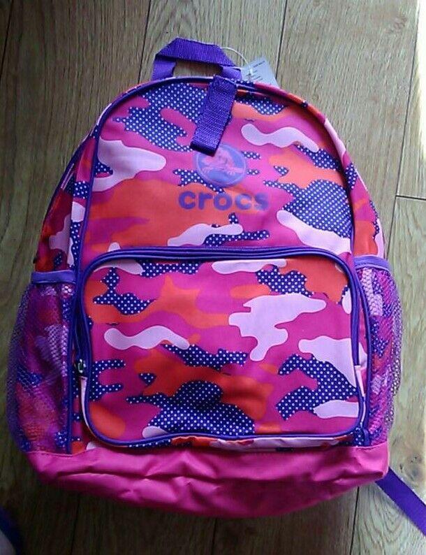 ff8414910b5e92 Crocs backpack   Lunchbag combo