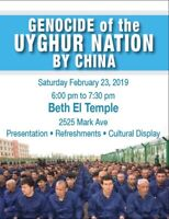 Unity against oppression in China against Uygurs