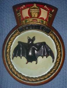 HMAS VAMPIRE (I) D68 Plaque. Made from Timber-Excellent Condition Wembley Cambridge Area Preview