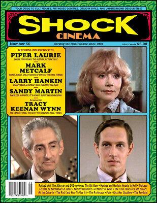 Shock Cinema #26 Steve Puchalski Magazine Piper Laurie, Mark Metcalf,