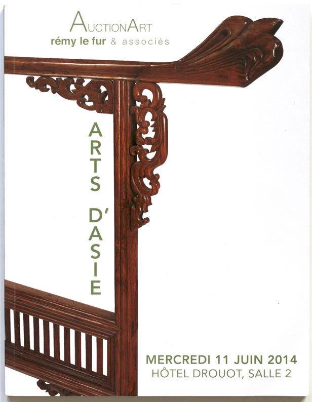Asian Art Drouot 2014 auction catalogue, China, Japan, India SEA