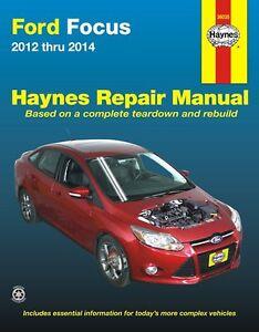 Ford focus repair manual ebay ford focus repair manual 2012 2014 by haynes 36035 fandeluxe Choice Image