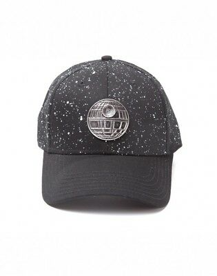 Licensed Star Wars Metal Death Star Unisex Cotton Snapback Cap Baseball Hat