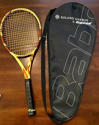Babolat Pure Aero Roland Garros Tennis Racquet with Case Limited Edition