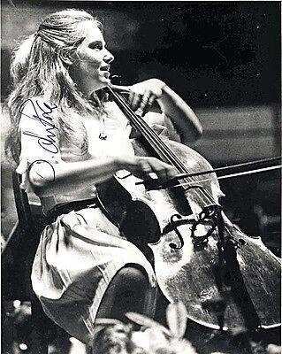 Jacqueline Du Pre Autographed 8x10 SIgned Photo Reprint