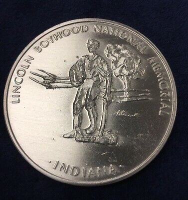 Lincoln Boyhood National Memorial Medal  Living Historical Farm
