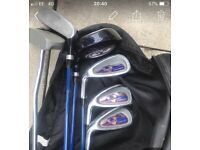 Left handed adult golf clubs