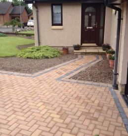 Kelso driveway cleaning (Covering the Scottish Borders) pressure washing / cleaning .