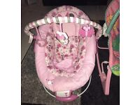 Minnie Mouse bouncer (immaculate condition)