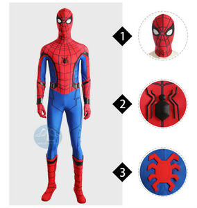 The Spider Man Cosplay Costume