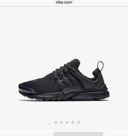 Brand new boxed Nike Prestos. Size 5.5