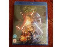 Star Wars The Force Awakens Blu ray Movie Brand New
