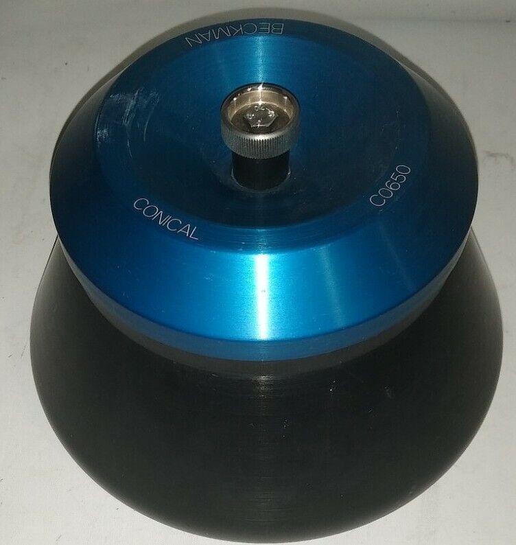 BECKMAN FIXED-ANGLE CONICAL TUBE ROTOR, MODEL C0650, 6 X 50 ML