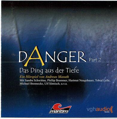 DANGER PART 2 ANDREAS MASUTH DAS DING AUS DER TIEFE CD