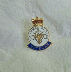 Armed Forces Veterans Military Pin Badge.. army,navy air force ect.