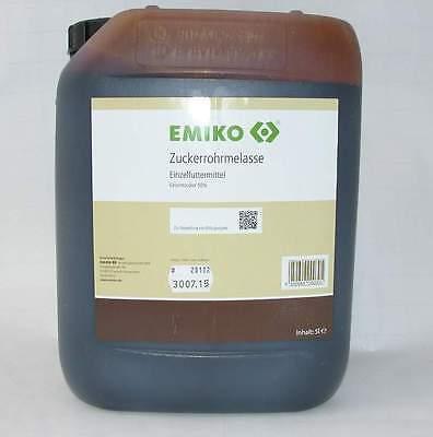Zuckerrohrmelasse 5 l EMA Herstellung EM Vermehrung EMIKO Garten Futtermittel