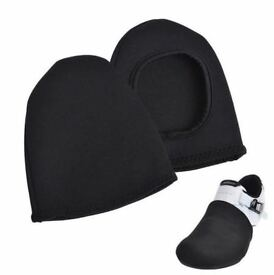 NEW CYCLING SHOE TOE COVER ROCKBROS TOE COVER Bike Bicycle Winter Thermal, Fits Sizes: UK 6-10