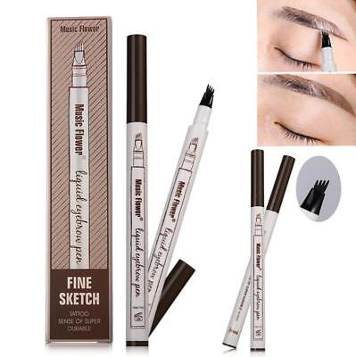 Microblading Eyebrow Tattoo Pen Waterproof Fork Tip Sketch Makeup Ink Best Price](Makeup Sketch)